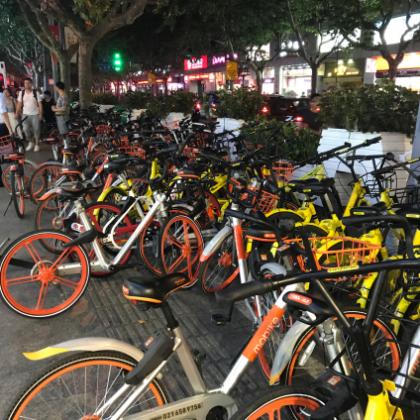 シェア自転車サービス