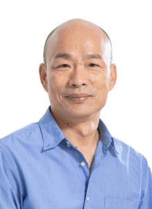 現職の高雄市長・韓國瑜氏